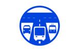 Транспорт большого города. Дороги. Логистика 2021. Логотип выставки