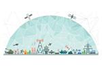 Профессиональные сети и системы связи 2021. Логотип выставки