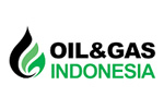 Oil and Gas Indonesia 2021. Логотип выставки