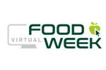 VirtualFoodWeek Russia 2021. Логотип выставки