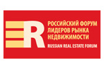 Российский форум лидеров рынка недвижимости / RREF 2021. Логотип выставки