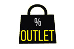 Ярмарка скидок и распродаж OUTLET 2020. Логотип выставки