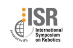 Международный симпозиум по робототехнике / ISR 2021. Логотип выставки