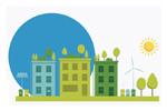 Экоустойчивая архитектура: зеленое строительство 2020. Логотип выставки