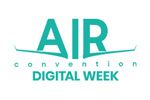 AIR Convention Digital Week 2020. Логотип выставки