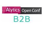 Alytics Open Сonf B2B 2020. Логотип выставки