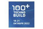 100+ TechnoBuild 2021. Логотип выставки