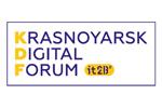 Krasnoyarsk Digital Forum / KDF 2021. Логотип выставки