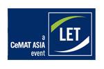 China International Logistics Equipment& Technology Exhibition / LET-a CeMAT ASIA 2021. Логотип выставки