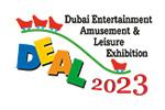 Dubai Entertainment Amusement & Leisure Exhibition / DEAL 2022. Логотип выставки