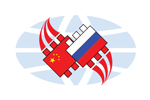 Business electronics with China 2019. Логотип выставки
