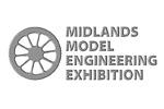 Midlands Model Engineering Exhibition 2019. Логотип выставки