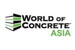 World of Concrete Asia 2019. Логотип выставки