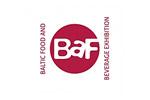 Baltic Food and Beverage Exhibition / BAF 2019. Логотип выставки
