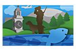 Hunting, Fishing and Sport 2019. Логотип выставки