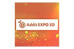 Addit EXPO 3D 2020. Логотип выставки