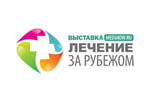 ЛЕЧЕНИЕ ЗА РУБЕЖОМ / Moscow Med Show 2022. Логотип выставки