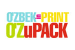 O'ZBEKinPRINT – O'ZuPACK 2021. Логотип выставки