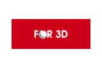 FOR 3D 2017. Логотип выставки