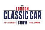The London Classic Car Show 2020. Логотип выставки