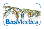 BioMedica 2020. Логотип выставки
