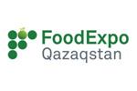 FoodExpo Qazaqstan 2021. Логотип выставки