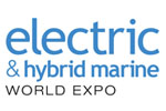Electric and Hybrid Marine World Expo 2020. Логотип выставки