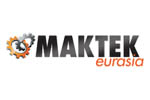 MAKTEK Eurasia 2021. Логотип выставки