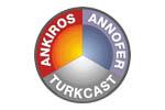 ANKIROS / ANNOFER / TURKCAST 2022. Логотип выставки