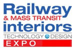 Railway and Mass Transit Interiors Technology and Design Expo 2013. Логотип выставки