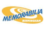 Memorabilia Birmingham 2018. Логотип выставки