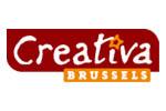 Creativa Bruxelles 2020. Логотип выставки