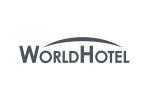 WorldHotel 2020. Логотип выставки