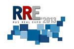 RUSREALEXPO /  РУСРЕАЛЭКСПО 2013. Логотип выставки