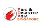 Fire & Disaster Asia (FDA) 2021. Логотип выставки