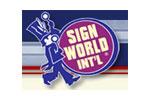USSC Sign World INT'L 2010. Логотип выставки
