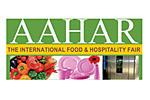 Aahar 2020. Логотип выставки