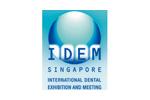 IDEM Singapore 2020. Логотип выставки