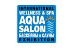 AQUA SALON: Wellness & SPA. Бассейны и сауны 2022. Логотип выставки