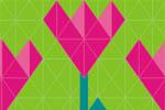 Весенний сад. Дачный сезон 2021. Логотип выставки